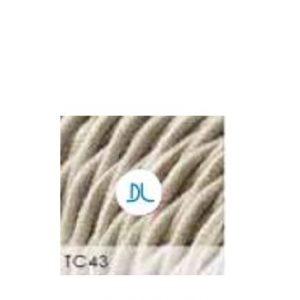 Lampasnúra Cotton Twisted Offwhite 3 x 0,75q