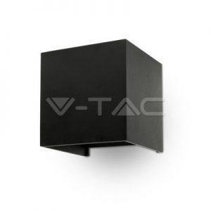 Led kubbaljós á Vegg IP65 Svart